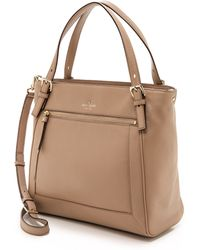 Kate Spade Cobble Hill Peters Bag - Warm Putty - Lyst