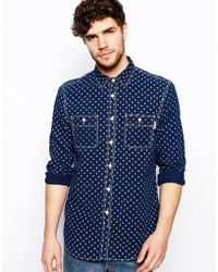 Jack Wills - Albany Shirt with Anchor Print - Lyst