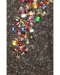 Stella Jean - Wool Alpaca Sunflower Sweater With Gemstones - Lyst