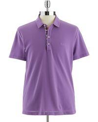 Hugo Boss Pique Polo Shirt - Lyst