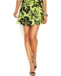 Michael Kors Michael Petite Pear Paradise Mini Skirt - Lyst