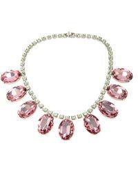 Tom Binns - Giant Gem Crystal Necklace - Lyst