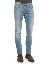 Acne Studios Max Skinny-Fit Denim Jeans - Lyst
