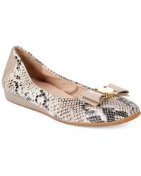 Cole Haan Tali Bow Ballet Flats - Lyst