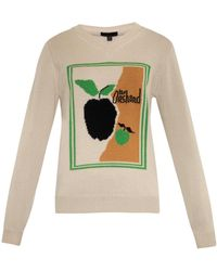 Burberry Prorsum The Orchard Cashmere Sweater - Lyst