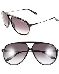 Carrera 64Mm Sunglasses - Shiny Black - Lyst
