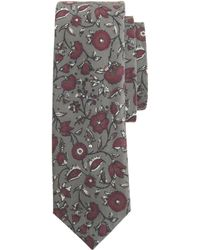 J.Crew Italian Cotton Tie In Bright Floral - Lyst