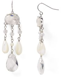 Ralph Lauren Lauren Winter Luxe Chandelier Earrings - Lyst