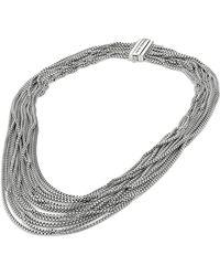 David Yurman Sixteenrow Chain Necklace - Lyst