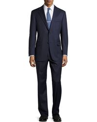 Hickey Freeman Lindsey Two-Piece Micro-Stripe Suit - Lyst