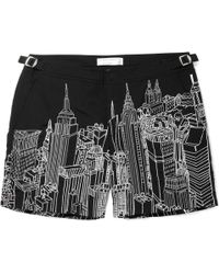 Orlebar Brown Bulldog New York-Print Swim Shorts - Lyst