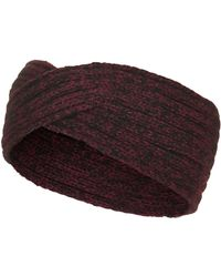 Topshop Purple Twist Headband - Lyst
