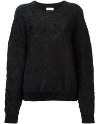 Issa Jacquard Sweater - Lyst