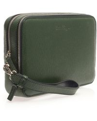 Ferragamo Revival Leather Pouch Bag - Lyst