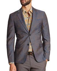 Ferragamo Wool-Blend Sportcoat - Lyst