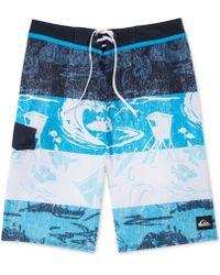 Quiksilver Eddie Heritage Printed 21 Boardshorts - Lyst