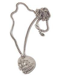 Cheap Monday - Skull Necklace - Lyst