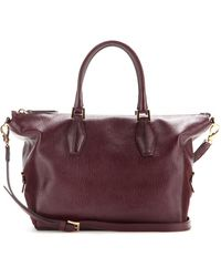 Tod's Dcube Leather Tote - Lyst
