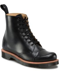 Dr. Martens Charlton Leather Ankle Boots - Lyst