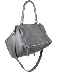 Givenchy Pandora Medium Shoulder Bag gray - Lyst