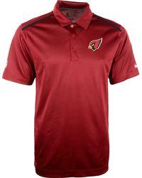 Nike Mens Arizona Cardinals Dri-fit Polo - Lyst