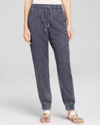 French connection Pants Industrial Drape - Lyst