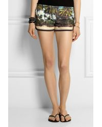 All Things Fabulous | + Bahia Printed Cotton-Blend Terry Shorts | Lyst