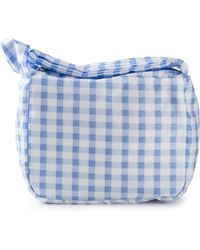 Carven - Vichy Check Makeup Bag - Lyst