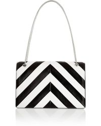 Saint Laurent Betty Medium Striped Leather Shoulder Bag - Lyst