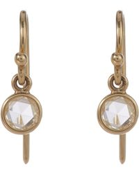 Finn - Diamond Drop Earrings - Lyst