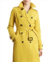 Jaeger Twill Trench Coat - Lyst