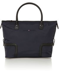Tommy Hilfiger Navy Medium Tote Bag - Lyst