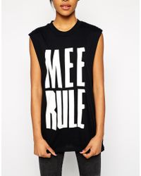 Cheap Monday Mee Rule Sleeveless Top - Lyst