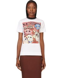 Marni White Christophe Joubert Edition T_shirt - Lyst