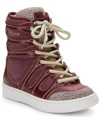 Alexander McQueen x Puma Husska Platform Boot Sneaker - Lyst