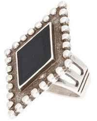 Vanessa Mooney Fates Ring In Silver - Lyst