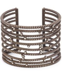 Nancy Newberg - Diamond Cuff Bracelet - Lyst