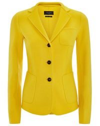 Weekend by Maxmara Frisia Wool Blazer - Lyst