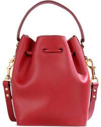 Sophie Hulme Medium Leather Bag - Lyst