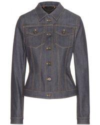 Burberry Prorsum Classic Denim Jacket blue - Lyst