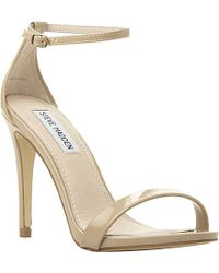Steve Madden Two Part Heeled Sandals - For Women - Lyst