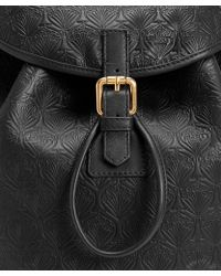Liberty - Black Iphis Leather Kingly Backpack - Lyst