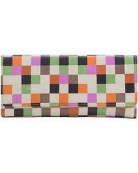 Hobo International - Sadie Leather Flap Wallet - Lyst