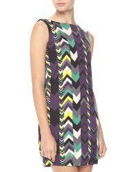 M Missoni Zigzagprint Jersey Dress - Lyst