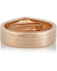 Repossi - 18-Karat Rose Gold Ring - Lyst