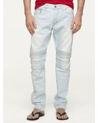 Ralph Lauren Black Label Slim-fit Sun-faded Piston Jean - Lyst