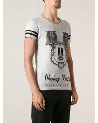 Philipp Plein 'Money Mouse' Printed T-Shirt - Lyst
