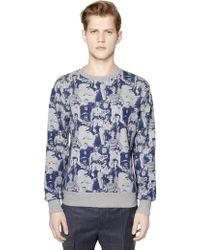 Paul & Joe - Printed Cotton Sweatshirt - Lyst