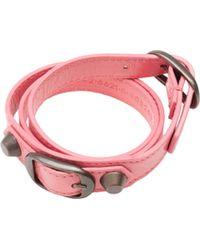 Balenciaga | Classic Bracelet Triple Tour | Lyst