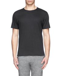 Rag & Bone Reversible Cotton Jersey T-Shirt - Lyst